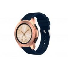 Ремешок Soft Sport Silicone для Samsung Galaxy Watch 42mm (Blue)