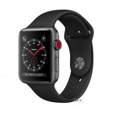 Apple Watch Edition Series 3 GPS + Cellular 38mm Gray Ceramic w. Gray/Black Sport B. (MQK02)