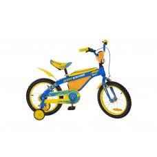 Велосипед детский двухколесный Profi 16BX405UK Желто-голубой