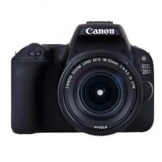 Фотоаппарат Canon EOS 200D 18-55 DC III Black Kit (2250C014)