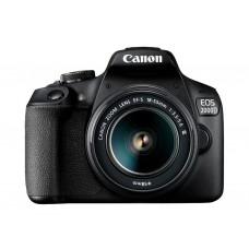 Зеркальный фотоаппарат Canon EOS 2000D kit (18-55mm) DC