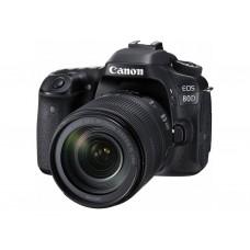 Зеркальный фотоаппарат Canon EOS 80D kit (18-135mm) IS STM