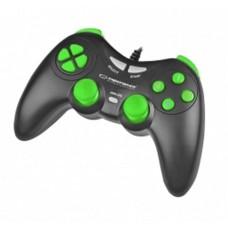 Геймпад Esperanza Fighter Black/Green (EGG105KG) USB