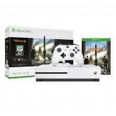 Игровая приставка Microsoft Xbox One S 1TB + Tom Clancy s The Division 2