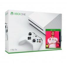 Игровая приставка Microsoft XBox One S 1TB White + FIFA 20 + Wireless Controller
