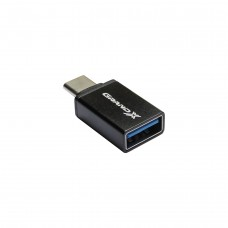 Адаптер Grand-X USB Type-C(BM)-USB 3.0(AF) Black (AD-112)