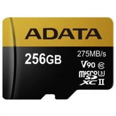 Карта памяти ADATA 256GB microSD class 10 UHS-II U3 (AUSDX256GUII3CL10-C)