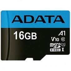 Карта памяти ADATA 16GB microSD class 10 UHS-I A1 Premier (AUSDH16GUICL10A1-R)