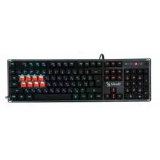 Клавиатура A4Tech B3370R Bloody Black USB
