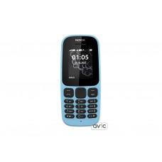 Мобильный телефон Nokia 105 Single Sim New Blue (A00028372)