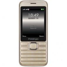 Мобильный телефон PRESTIGIO 1281 Duo Gold (PFP1281DUOGOLD)