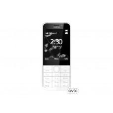 Мобильный телефон Nokia 230 Dual Silver White (A00026972)