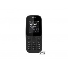 Мобильный телефон Nokia 105 Dual Sim New Black (A00028315)