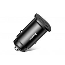 Автомобильное зарядное устройство Baseus USB Car Charger 30W Black (BS-C15C)