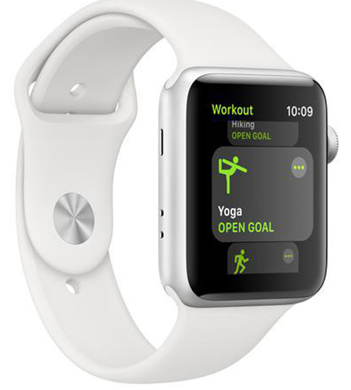 Apple Watch Series 3 Edition 38mm GPS+LTE White Ceramic Case with Soft White/Pebble Sport Band (MQJY2)