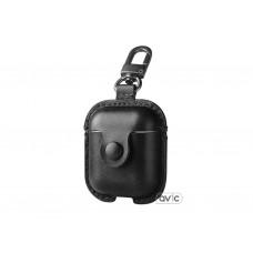 Чехол USAMS для наушников Apple AirPods LEATHER Black