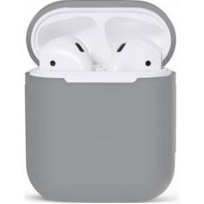 Чехол Nomi для наушников Apple AirPods Grey (348529)