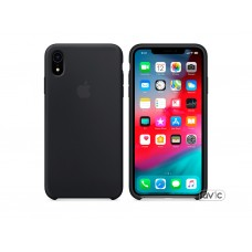 Чехол для Apple iPhone XR Silicone Case Black Copy
