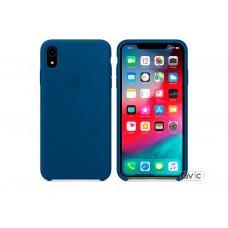 Чехол для Apple iPhone XR Silicone Case Midnight Blue Copy