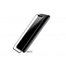Baseus silk screen protector for iPhone X (Black)