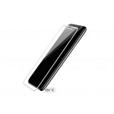 Baseus silk screen protector for iPhone X (White)