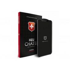 Защитное стекло для iPhone X/XS/11 Pro Black Neu Chatel
