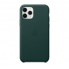 Чехол для Apple iPhone 11 Pro Max Leather Case Forest Green Copy