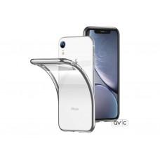 Бампер силикон прозрачный для iPhone XR