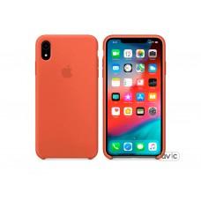 Чехол для Apple iPhone XR Silicone Case Nectarine Copy