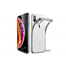 Бампер силикон прозрачный для iPhone XS/X