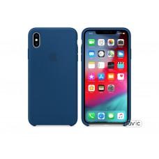 Чехол Apple iPhone XS Max Silicone Case Blue Horizon (copy)