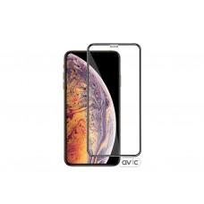 Защитное стекло для iPhone XS MAX Black
