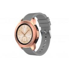 Ремешок Soft Sport Silicone для Samsung Galaxy Watch 42mm (Grey)