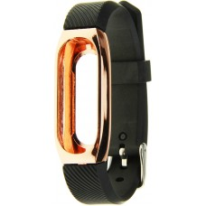 Ремешок UWatch 304 Stainless Steel Wrist Bracelet Milanese Replacement Strap For Mi Band 2 Gold