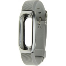 Ремешок UWatch 304 Stainless Steel Wrist Bracelet Milanese Replacement Strap For Mi Band 2 Silver