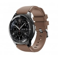 Ремешок Soft Sport Silicone для Samsung Galaxy Watch 46mm (Coffee)
