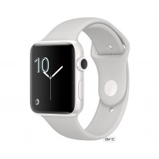 Apple Watch Edition Series 2 42mm White Ceramic Case with Cloud Sport Band (MNPQ2)