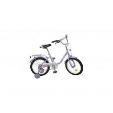 Велосипед детский двухколесный (для девочек) Profi Flower 18 фиолетовый (L1883)