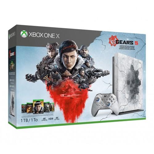 Игровая приставка Microsoft Xbox One X Gears 5 Limited Edition Bundle (1TB) (Open Box)