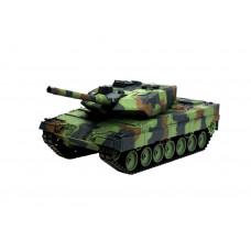 Танк на р/у 2.4GHz 1:16 Heng Long Leopard II A6 с пневмопушкой и дымом (HL3889-1)