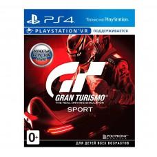 Игра для PS4 Gran Turismo Sport