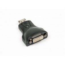 Адаптер-переходник Viewcon (VE557), DisplayPort-DVI, черный