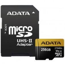 Карта памяти ADATA 256GB microSD class 10 UHS-II U3 (AUSDX256GUII3CL10-CA1)