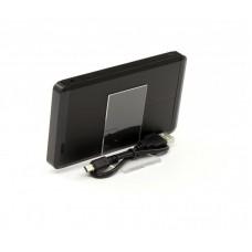 Внешний карман ProLogix SATA HDD 2.5, USB 2.0, алюминий, Black (BS-U25BS)