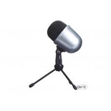 Микрофон AmazonBasics Desktop Mini Condenser Microphone Silver