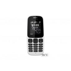 Мобильный телефон Nokia 105 Single Sim New White (A00028371)
