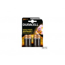 Батарейка Duracell Basic AA/LR06 BL 4шт