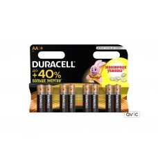 Батарейка Duracell Basic AA/LR06 BL 8шт