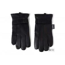 Перчатки кожанные мужские Alpine Swiss Gloves L (Black)