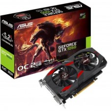 Видеокарта ASUS GeForce GTX1050 2048Mb CERBERUS OC (CERBERUS-GTX1050-O2G)